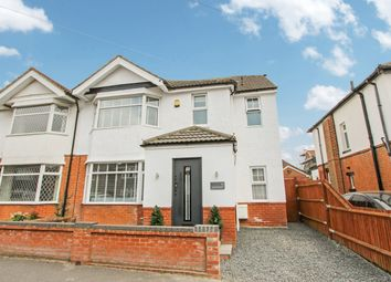 Thumbnail 4 bed semi-detached house for sale in Wilton Crescent, Southampton