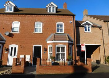 Thumbnail 4 bedroom town house for sale in Valerian Way, Stotfold, Herts