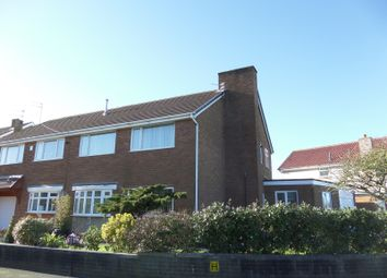 Thumbnail 4 bed semi-detached house for sale in Snowshill Crescent, Cleveleys