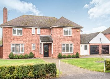 Thumbnail 4 bed detached house for sale in Satterley Close, Witham St Hughs