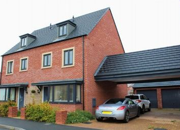 Thumbnail 4 bed semi-detached house for sale in Kent Crescent, Duston, Northampton