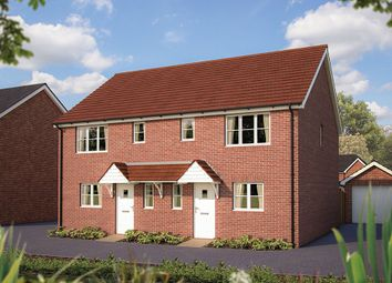 "Thumbnail 2 bed semi-detached house for sale in ""The Southwold"" at Appleton Way, Shinfield, Reading"