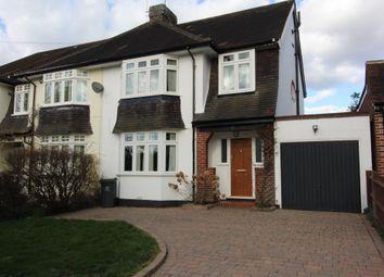 Thumbnail 3 bed semi-detached house for sale in Goddington Lane, Orpington, Kent