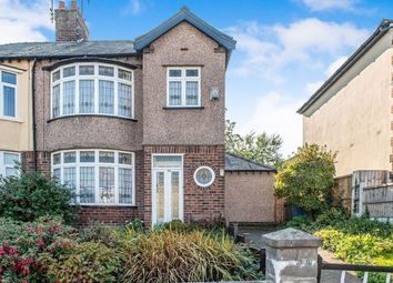 Thumbnail 3 bedroom semi-detached house for sale in Manor Road, Woolton, Liverpool