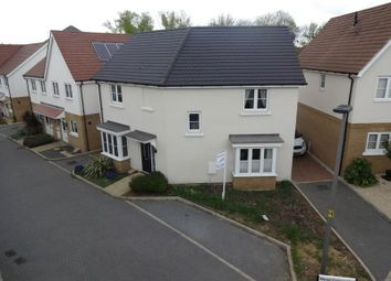 Thumbnail 3 bed detached house for sale in Redhouse Park, Milton Keynes