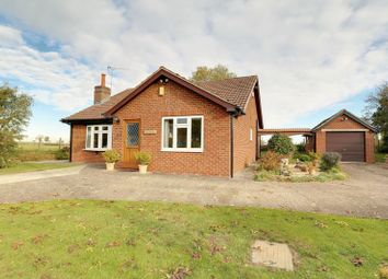 Thumbnail 3 bed detached bungalow for sale in Redbourne Road, Waddingham, Gainsborough