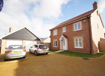 Thumbnail 4 bed detached house for sale in Aldeburgh Road, Leiston