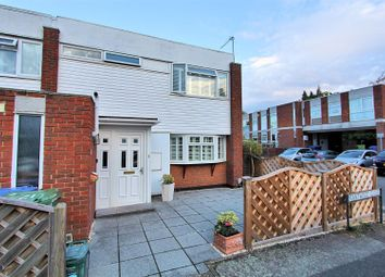 Thumbnail 3 bedroom end terrace house for sale in Brantwood Close, West Byfleet