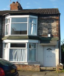 Thumbnail 2 bedroom terraced house to rent in Manvers Street, Hull