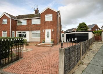 Thumbnail 3 bed semi-detached house for sale in Bardsley Close, Bolton