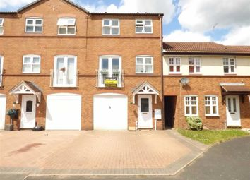 Thumbnail 3 bed town house for sale in Brent Close, Meadowcroft Park, Stafford