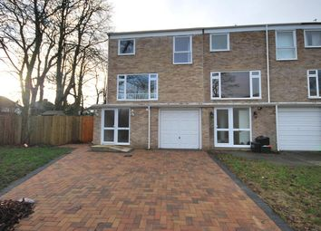 Thumbnail 3 bed end terrace house to rent in Cornford Close, Hayes, Bromley