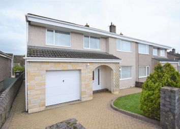 Thumbnail 5 bed semi-detached house for sale in The Crest, Whitehaven