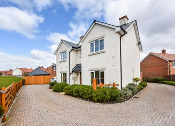 Thumbnail 4 bed detached house for sale in Mercury Drive, Andover Down, Andover