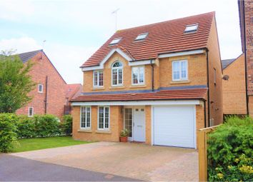 Thumbnail 5 bedroom detached house for sale in Principal Rise, York