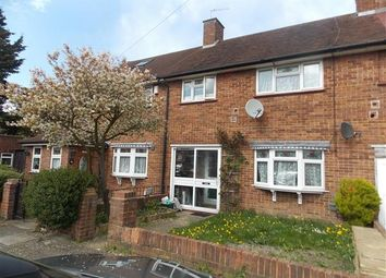 Thumbnail 3 bed terraced house for sale in Bedfont Close, Feltham