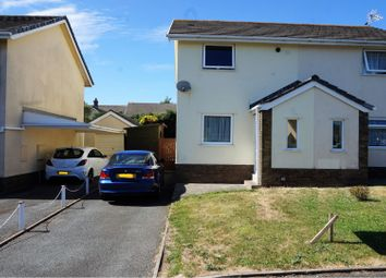 Thumbnail 2 bed semi-detached house for sale in Glenview Avenue, Pembroke Dock