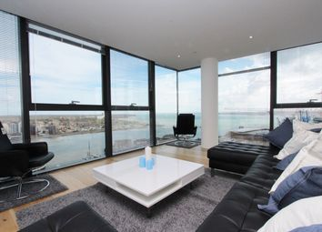 Thumbnail 3 bed flat to rent in Admirals Quay, Ocean Village, Southampton