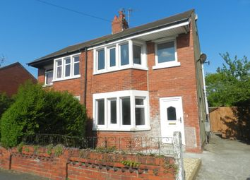 Thumbnail 3 bed semi-detached house to rent in Waring Drive, Thornton-Cleveleys
