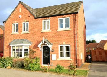Thumbnail 2 bedroom semi-detached house for sale in Kingfisher Drive, Mexborough, South Yorkshire