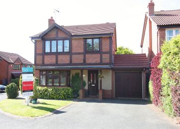 Thumbnail 4 bedroom detached house for sale in Penleigh Gardens, Wombourne, Wolverhampton