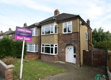 Thumbnail 3 bed semi-detached house for sale in York Road, Northwood