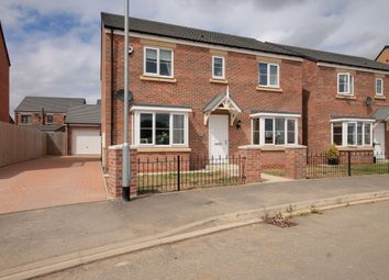 Thumbnail 4 bed detached house for sale in St. James Crescent, Newfield, Chester Le Street