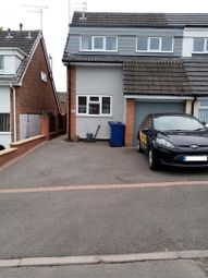 Thumbnail 3 bed semi-detached house for sale in Cypress Rise, Hazel Slade, Cannock