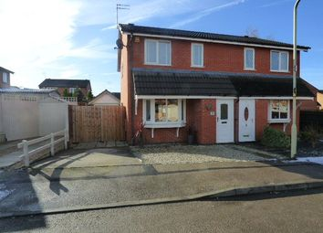 Thumbnail 3 bed semi-detached house for sale in Bell Close, Broughton Astley, Leicester, Leicestershire