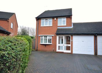 Thumbnail 3 bed detached house for sale in Mere Road, Wigston