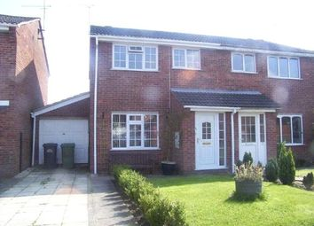 Thumbnail 3 bed semi-detached house to rent in Bramley Close, Broughton Astley, Leics
