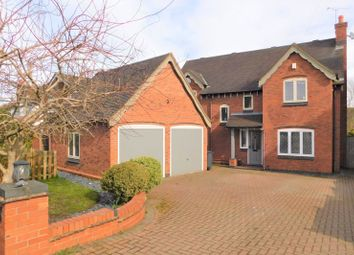 Thumbnail 4 bed detached house for sale in Main Street, Osgathorpe, Loughborough