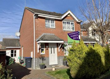 Thumbnail 3 bed semi-detached house for sale in Celandine Way, Chippenham, Wiltshire