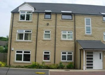 Thumbnail 2 bed flat for sale in The Plantations, Low Moor, Bradford