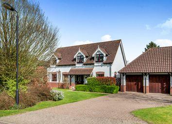Thumbnail 4 bed detached house for sale in Burlington Close, Palgrave, Diss