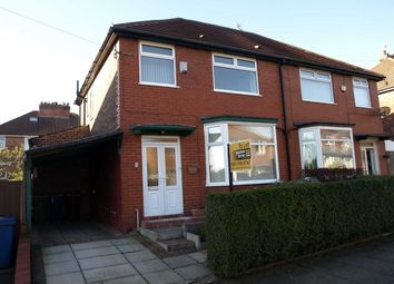 Thumbnail 3 bed semi-detached house to rent in Oldfield Road, Prestwich, Manchester