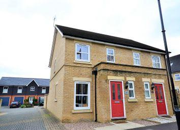 Thumbnail 2 bed semi-detached house for sale in Avington Way, Sherfield-On-Loddon, Hook