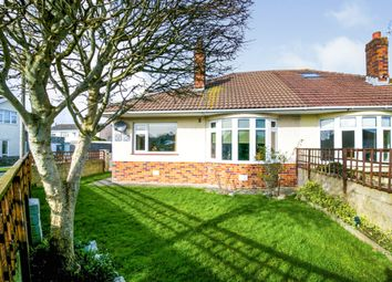 Thumbnail 2 bed semi-detached bungalow for sale in St. Michaels Road, Porthcawl
