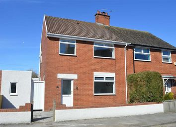 Thumbnail 3 bed semi-detached house for sale in Crossways Street, Barry