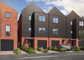 Thumbnail 4 bed town house for sale in Kingsway Boulevard, Derby