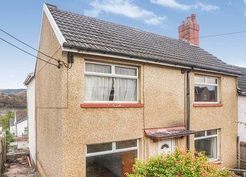 Thumbnail 4 bedroom semi-detached house for sale in Fflorens Road, Newbridge, Newport