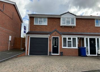 Thumbnail 4 bed semi-detached house for sale in 21 Althorp Way, Stretton, Burton-On-Trent, Staffordshire