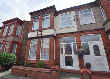 Thumbnail 3 bedroom semi-detached house to rent in Burdett Road, Wallasey