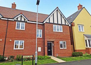 Thumbnail 4 bed semi-detached house for sale in Saints Walk, Kedington, Haverhill