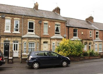 Thumbnail 2 bed terraced house to rent in Cemetery Road, York, North Yorkshire