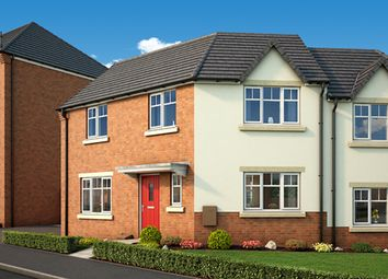 """Thumbnail 3 bedroom semi-detached house for sale in """"The Primrose"""" at Middlepark Road, Dudley"""