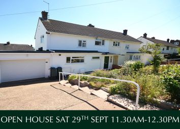 Thumbnail 3 bed semi-detached house for sale in Higher Kings Avenue, Exeter