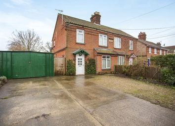 Thumbnail 3 bed semi-detached house for sale in Watton, Thetford, Norfolk