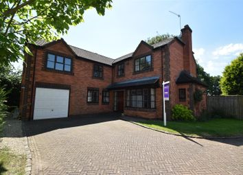 Thumbnail 4 bed detached house for sale in Evertons Close, Droitwich