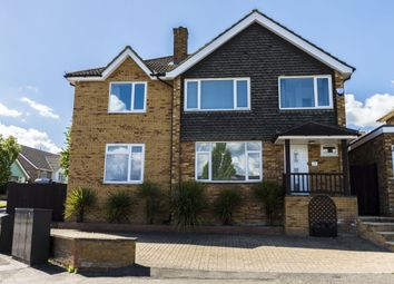 Thumbnail 5 bed detached house for sale in Kestrel Road, Brickhill, Bedford